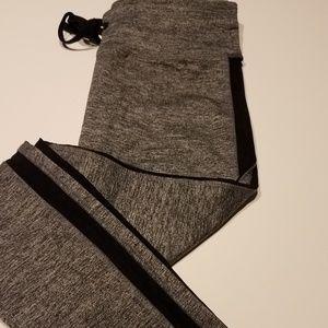 Forever 21 mesh side leggings
